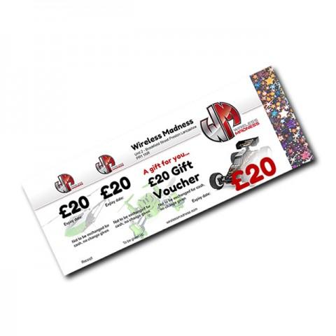 Wireless Madness Gift Vouchers (2) - £20 Value