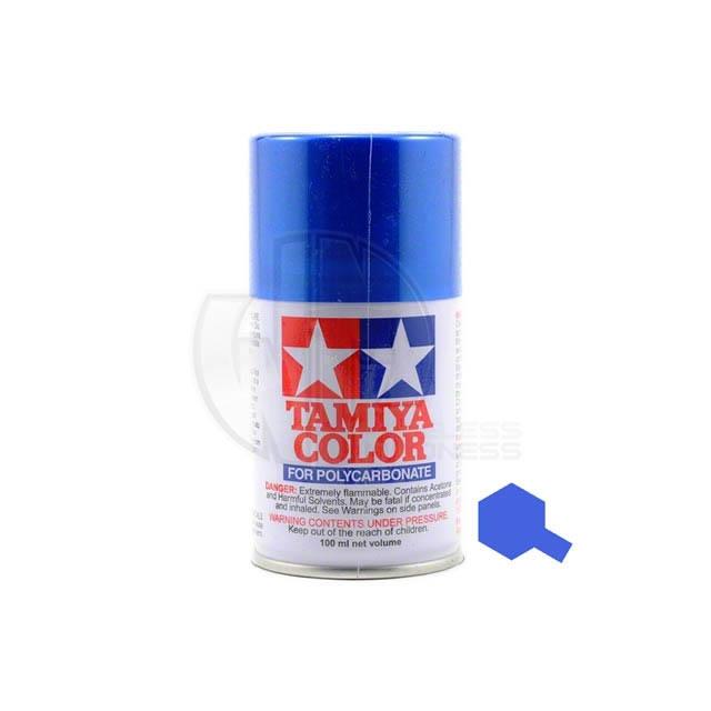 Tamiya Ps 16 Metallic Blue 100ml Polycarbonate Spray Paint